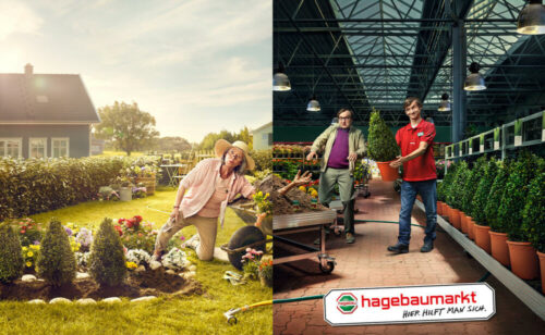 Hagebaumarkt Werbung retouched by Sublime Postproduction