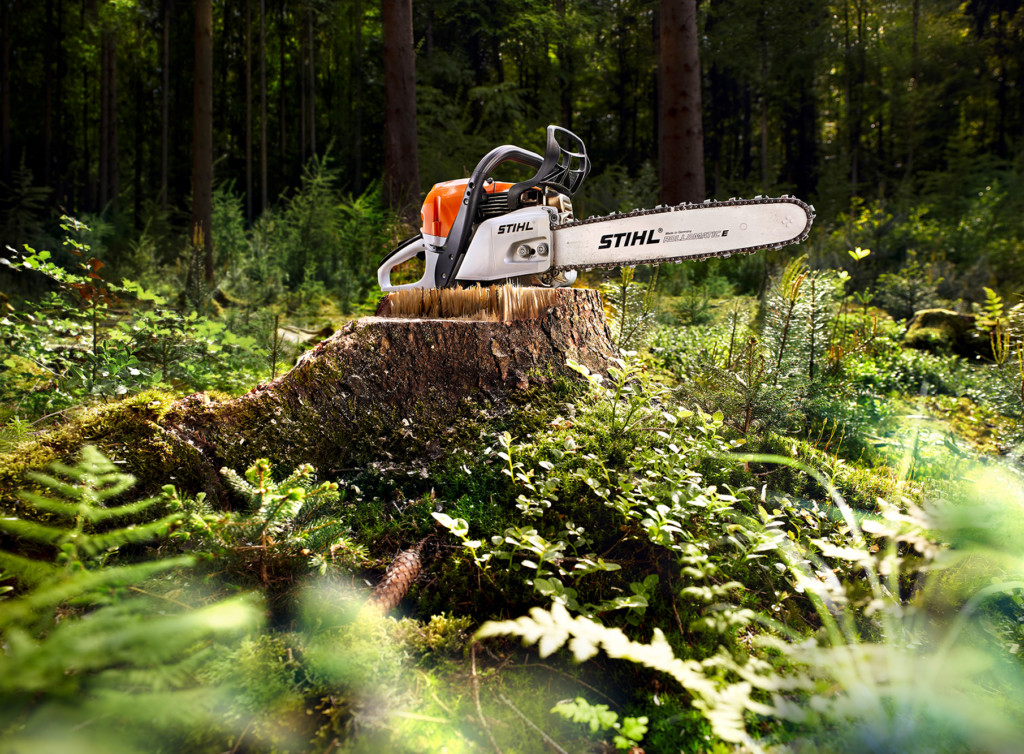Stihl Print Werbung retouched by Sublime